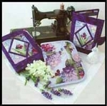 sewing pressing mat, notebook holder, and sewing supplies holder